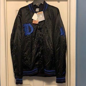 Duke university bomber jacket Size XL New W/ tags
